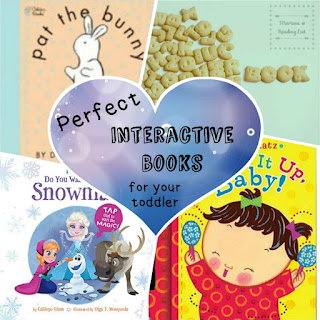 Perfect interactive books to read to your toddler... a small step toward Reading Comprehension, a Children's Corner feature on Reading List