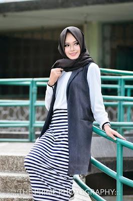 Style Hijab Modern Terbaru 2016