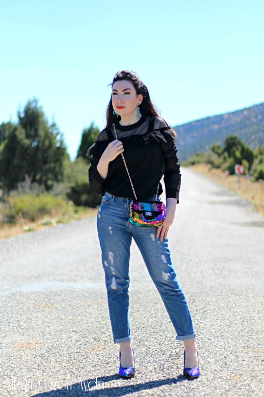 alışveriş-Payetli Çanta ve Payetli Ayakkabı-fashion-moda-fashion blogger-moda blogu