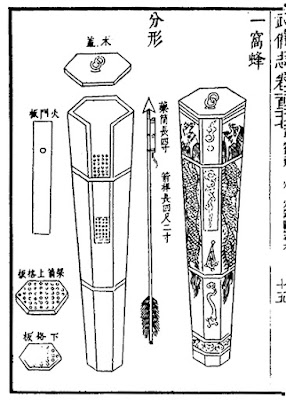 Ming Chinese Multiple Rocket Pod