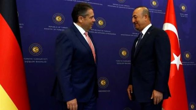 German Foreign Minister Sigmar Gabriel in Ankara to discuss air base visit row