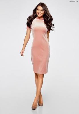 modelos de vestidos ala rodilla