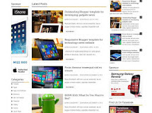 Technology & Gadget Responsive Blogger Template