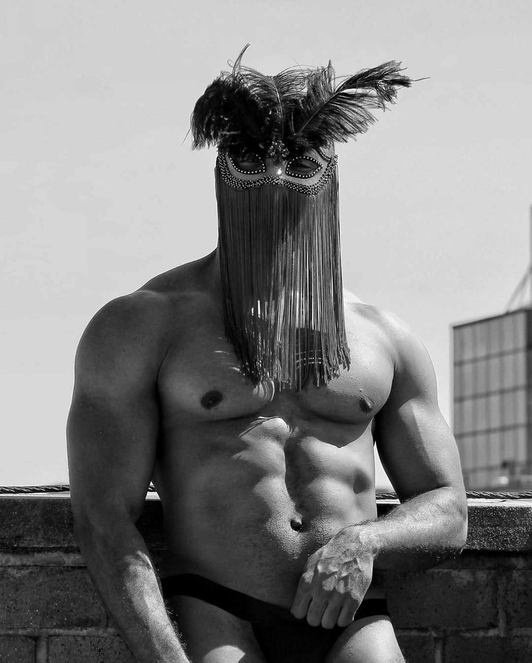 AdaM (II), by Sergey Sheptun ft Adam Davenport mask by Glen.