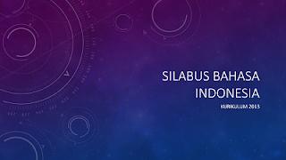 Pedomaan Pelajaran Bahasa Indonesia Tingkat SMA/SMK oleh Kementerian Pendidikan dan Kebudayaab Jakarta Tahun 2016 (Bagian Pertama)
