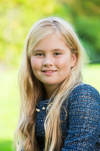 Princess Alexia, Princess Catharina-Amalia and Princess Ariane of The Netherlands