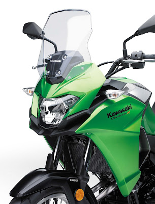 2017 Kawasaki Versys-X 300 close up image