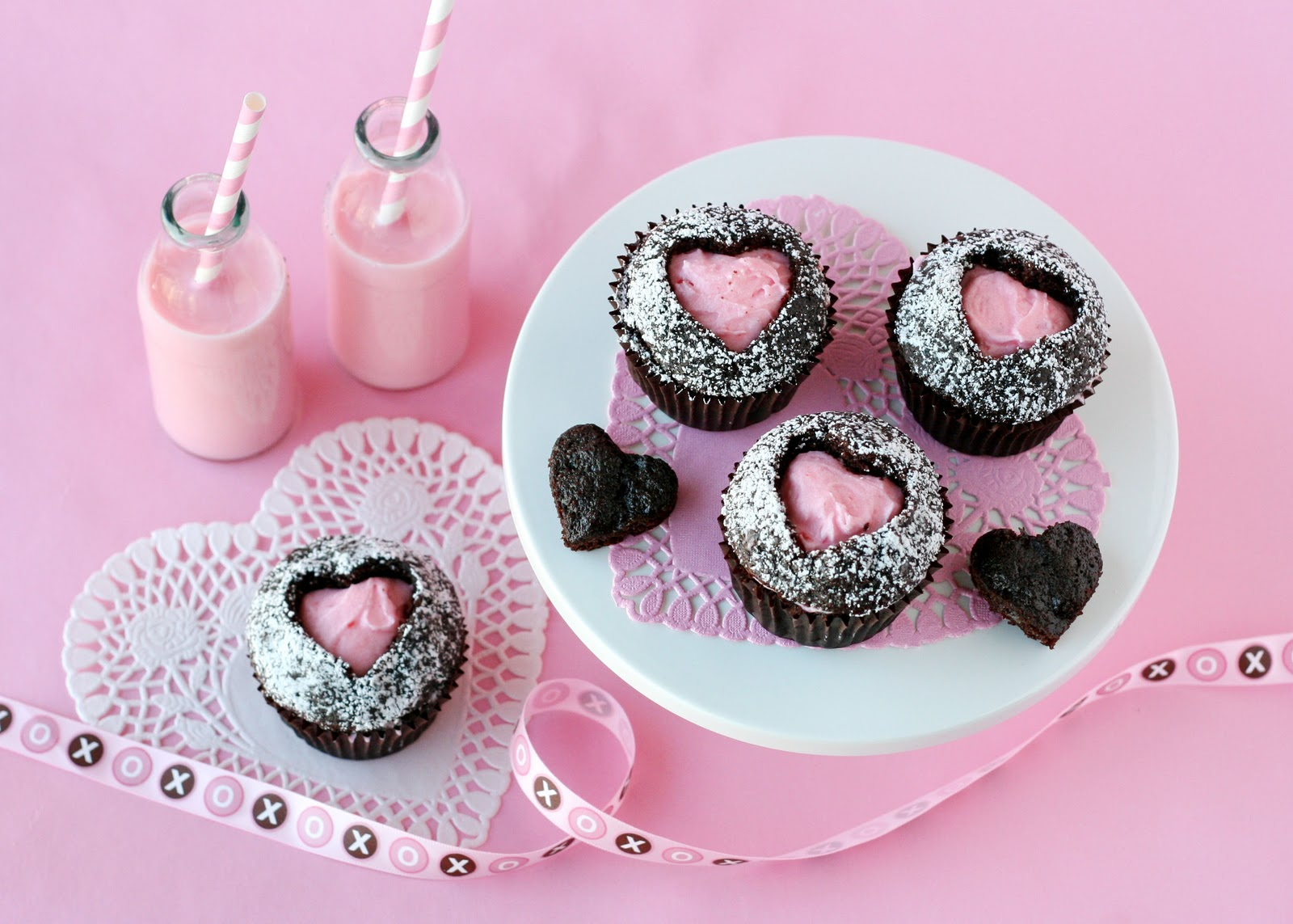 Sweet Heart Cupcakes Glorious Treats
