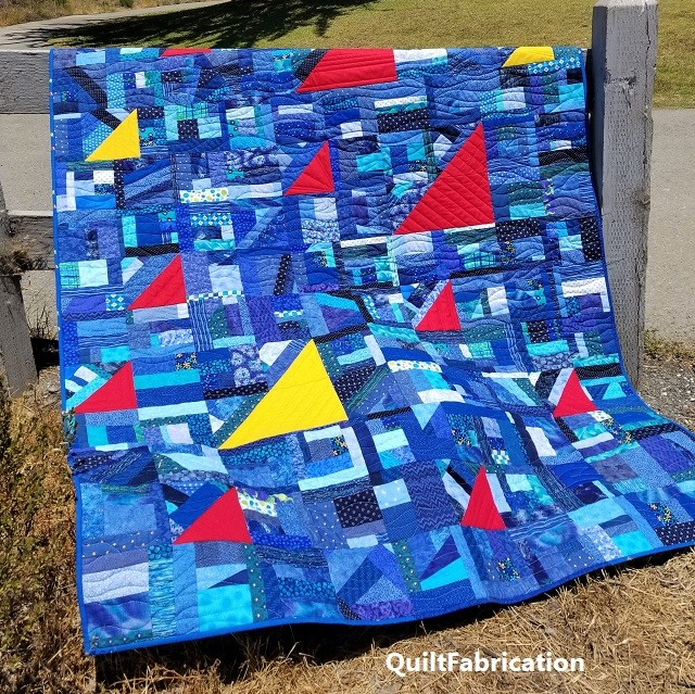 Regatta quilt by QuiltFabrication