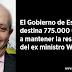 El Gobierno destina 775.000 € a mantener la residencia de Wert