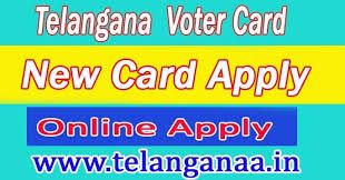 Telangana New Voter Card Online Apply TS Voter ID Online Status Voter ID Online Correction Voter ID Transfer
