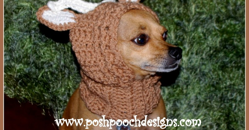 Free Crochet Pattern Dog Snood : Posh Pooch Designs Dog Clothes: New Pattern Releases ...