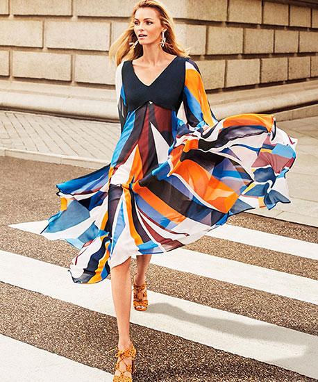 vestido primavera mujer El Corte Inglés anuncio 2017