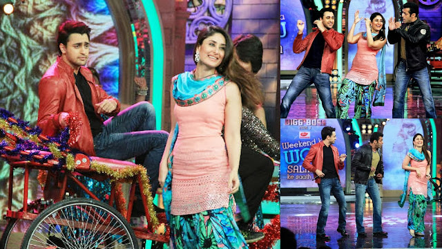 Kareena, Imraan and Salman rocking at Bigg Boss set