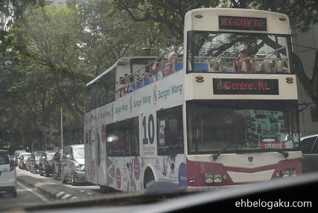 bas 2 tingkat,pengangkutan di KL,KL sesak