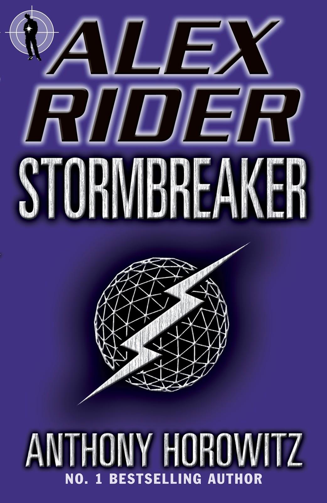 Stormbreaker Antohony Horowitz cover Alex Rider