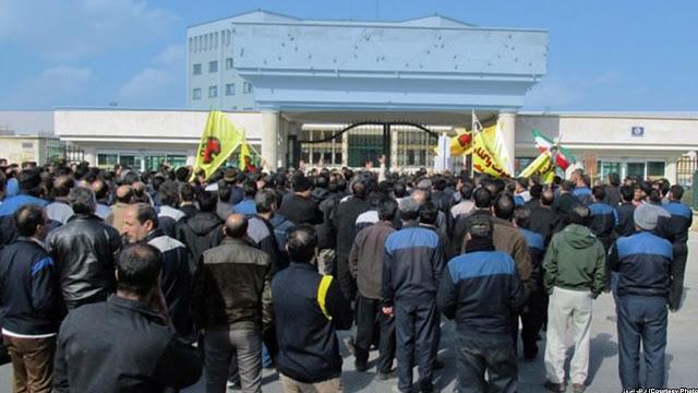 الأسبوع الثاني لإضراب عمال معمل  هبكوبمدينة اراك عن العمل