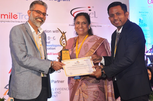 Spark Minda Foundation wins 4th CSR Impact Award at India CSR Summit 2017