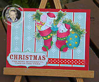 Sparkles Christmas Challenge: Challenge # 95 Embossing Heat or Dry +