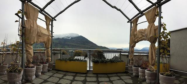 Genussbalkon im Panoramabild