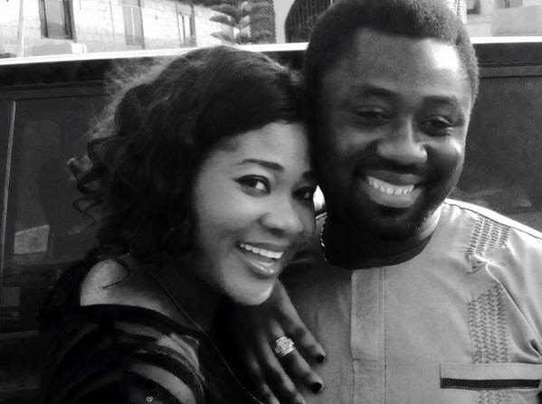 Nollywood Star Actress Mercy Johnson's sweet Valentine Message to her Husband
