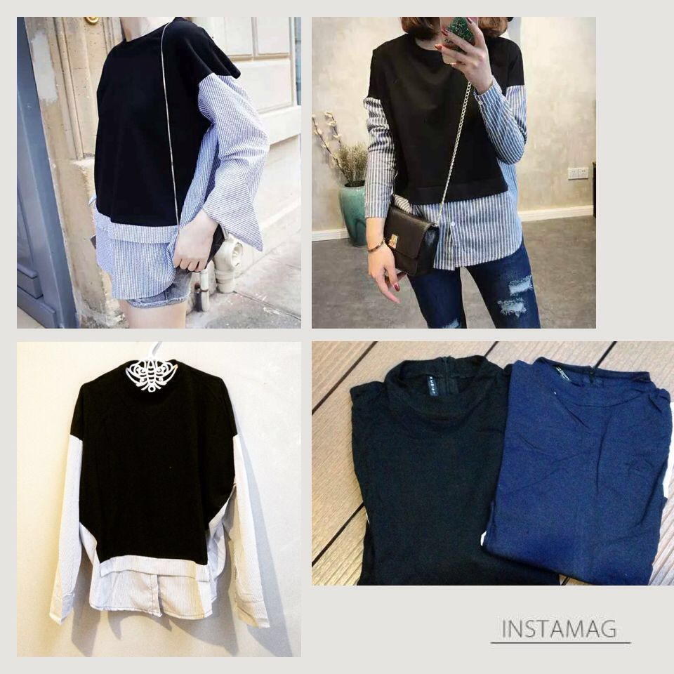 Jual BANGKOK KOREA Laura Import Long Sleeves - 13204
