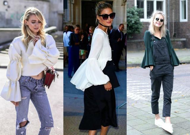 rękaw deynn, moda 2017