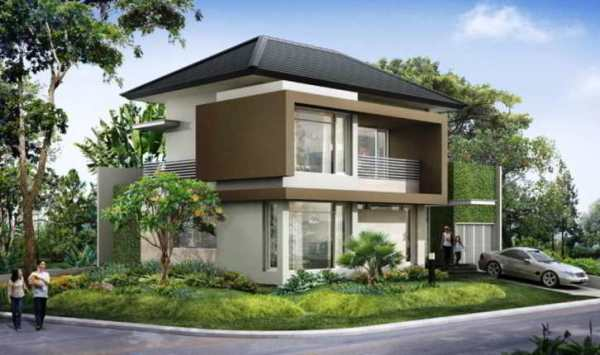 menyerupai ini berbeda dengan rumah pada umumnya Rancangan Desain Rumah di Sudut Jalan