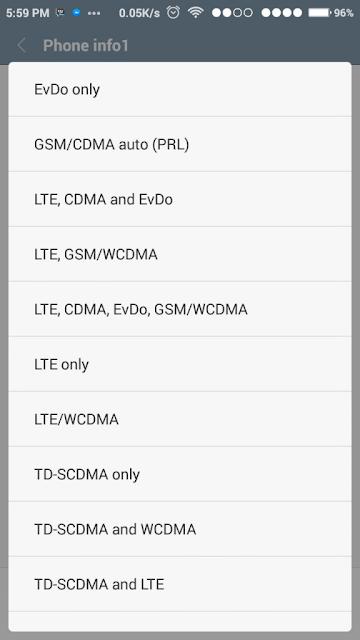 Cara Fix 4G LTE Redmi Note 3 PRO Semua ROM Tanpa ROOT
