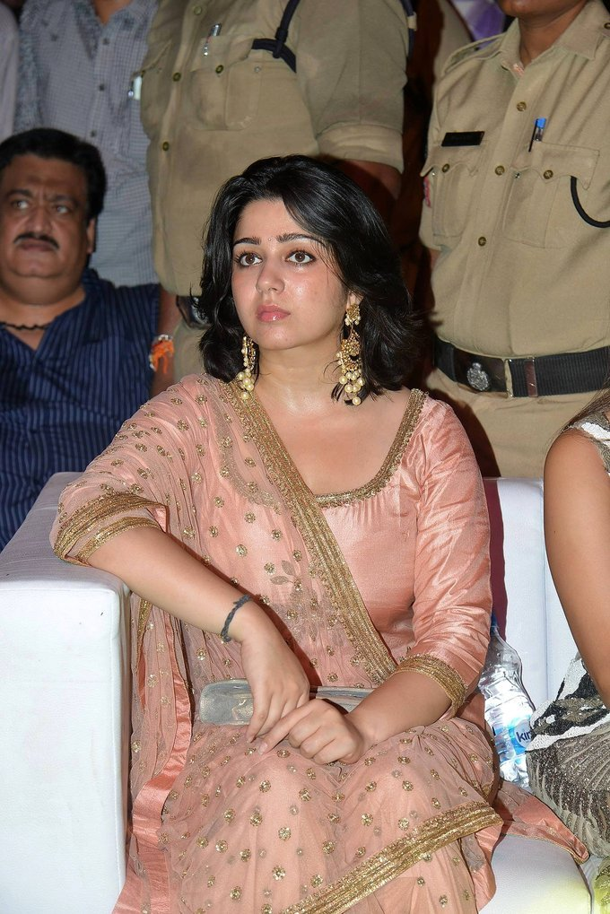 Charmi At Paisa Vasool Movie Audio Launch Stills