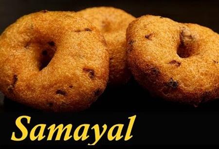 Medu Vada Recipe in Tamil | Ulundu Vadai Recipe in Tamil | How to make Medu Vada at home