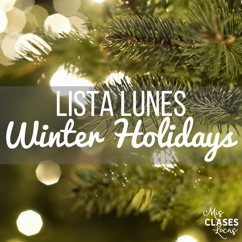Lista lunes - Winter Holidays