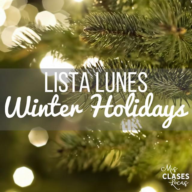 Lista lunes - Winter Holidays