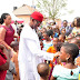 As Governor Okowa And Wife Celebrate With The Mrakpor Triplets.