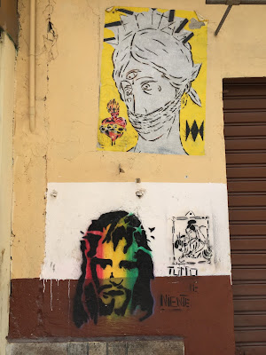 Palermo street art: faces
