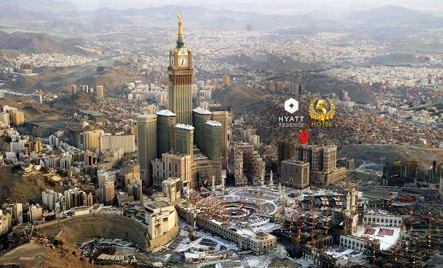 Hotel Hyatt Regency Mekkah Bintang 5
