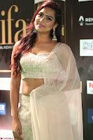 Prajna Actress in backless Cream Choli and transparent saree at IIFA Utsavam Awards 2017 0114.JPG