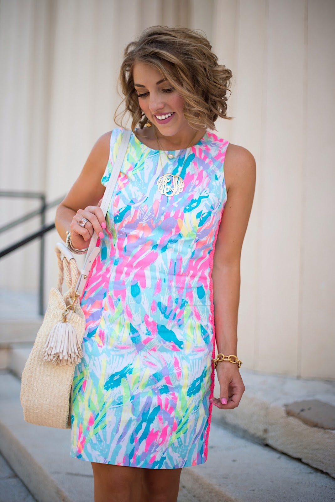 Lilly Pulitzer Mila Shift Dress - Click through to see more on Something Delightful Blog!