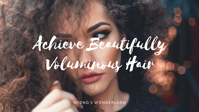 Achieve Beautifully Voluminous Hair