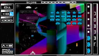 【PSP】太空侵略者EX,華麗炫目的科幻版小蜜蜂!
