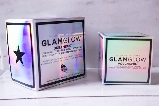 Glamglow Volcasmic et Dream Duo