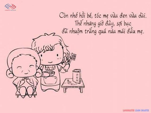Có 1 ngày, mẹ của chúng ta sẽ dần dần già đi...!