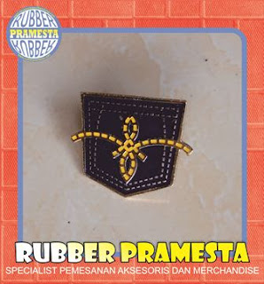 PIN ENAMEL CUSTOM WARNA DASAR GOLD