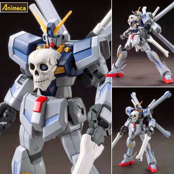 MODEL KIT CROSSBONE GUNDAM Maoh HGBF 1/144 GUNDAM BUILD FIGHTERS BANDAI