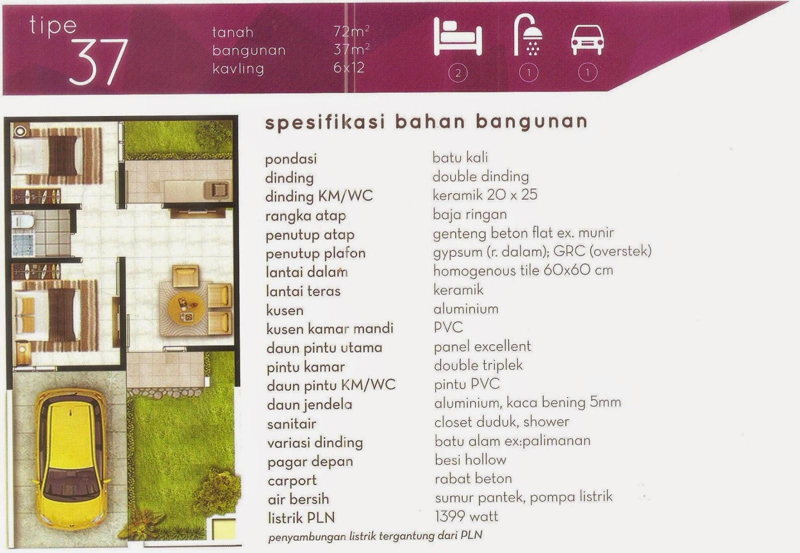 Cluster Taman Frambosa di Grand Bekasi