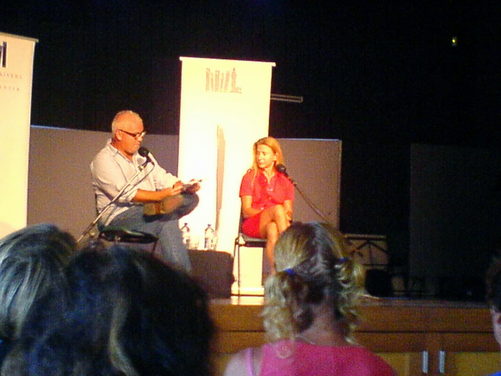 Lionel Shriver And Matthew Condon At St Finbar's Hall, March 1st, 2014