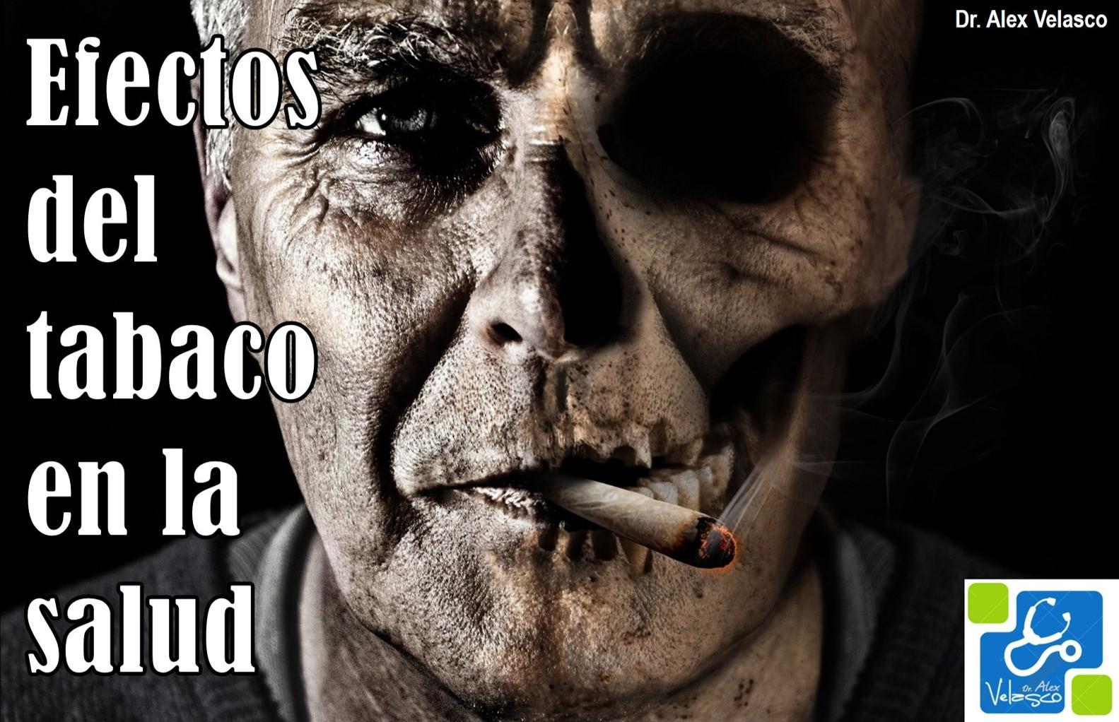 Efectos del tabaquismo sobre la salud