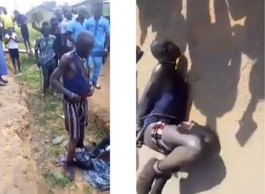 Man Pretending To Be Insane Caught With Charms While Luring Kids With Biscuits