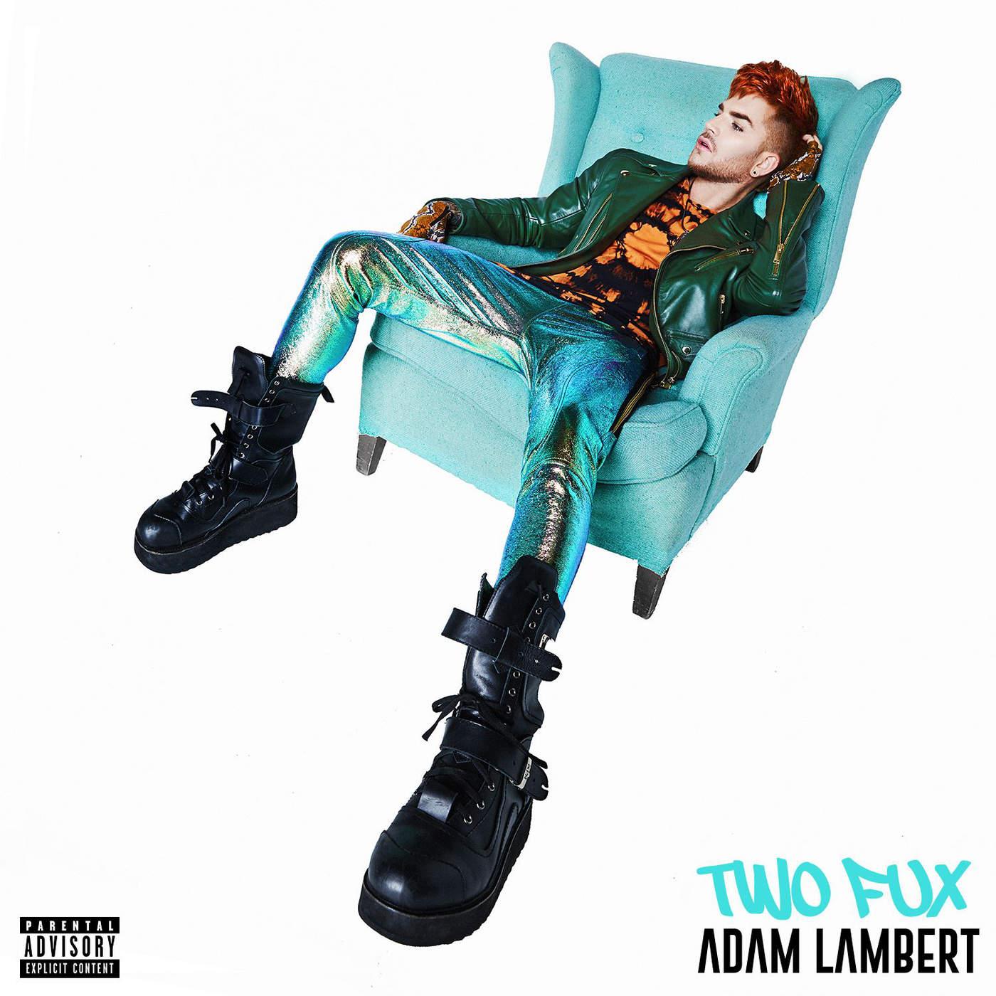 Adam Lambert - Two Fux - Single Cover