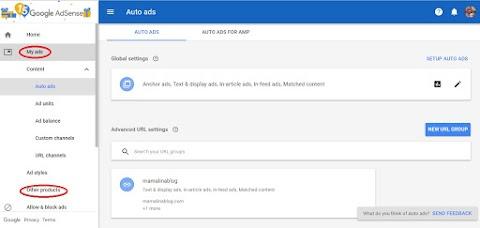 Google Adsense hilang lepas tukar Domain